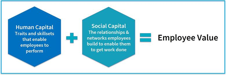 Employee Value Human Capital plus Social Capital
