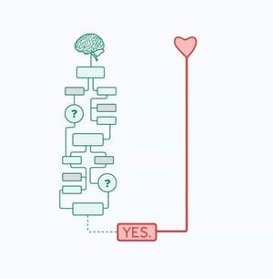 Heart vs Mind decisions